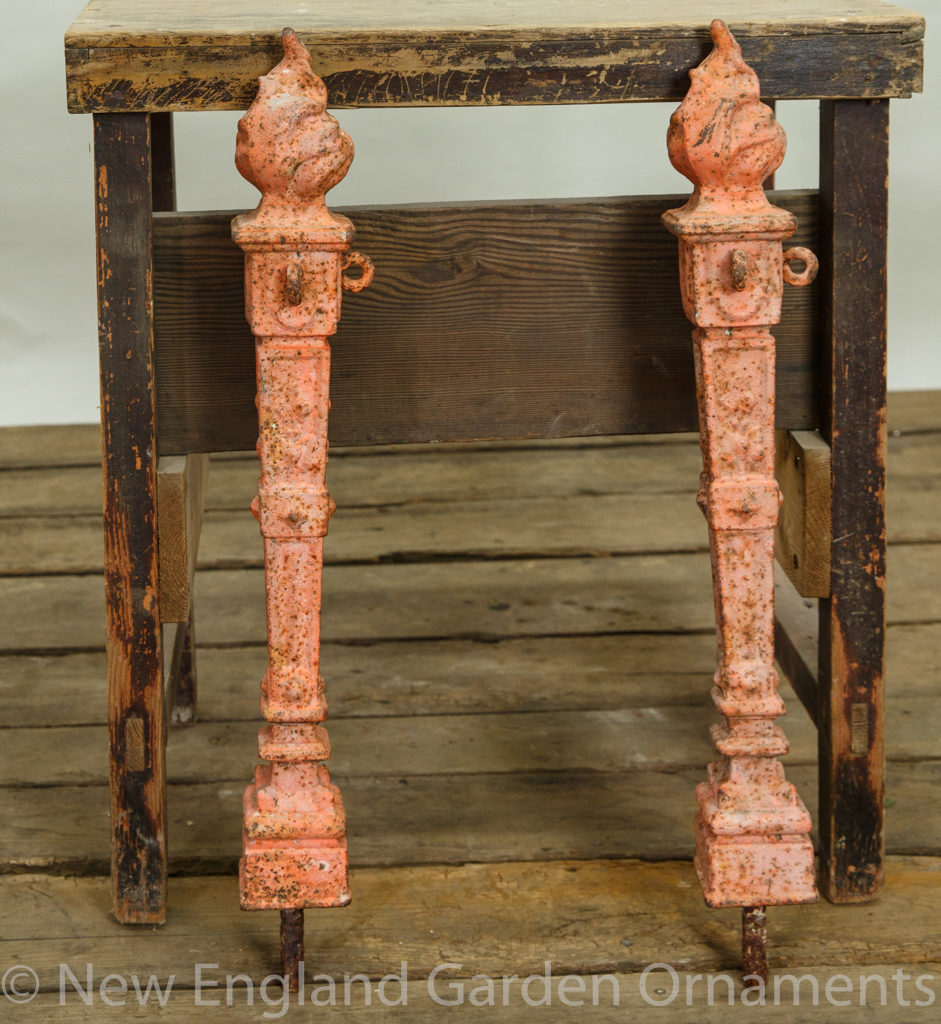 Antique Cast Iron Bollards