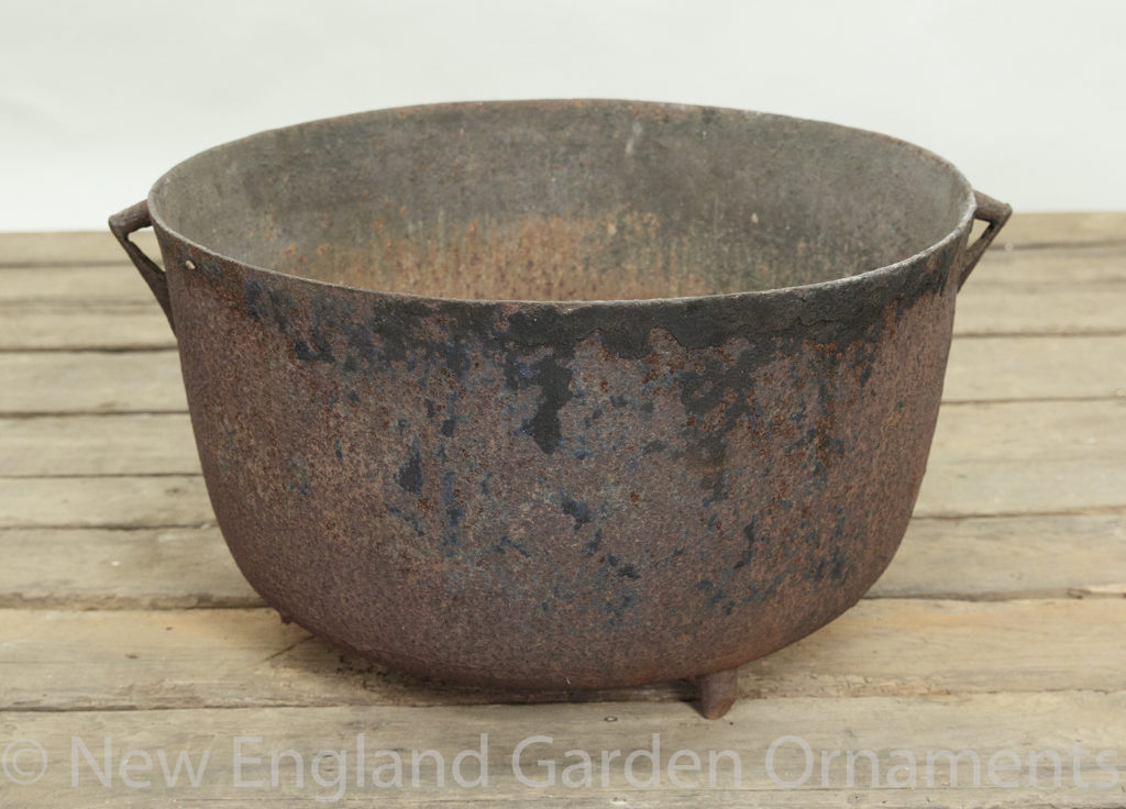 Antique Cast Iron Cauldron