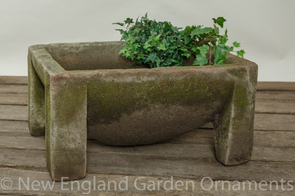 Antique Brownstone Trough