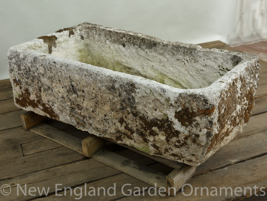 Antique Mossy Trough, Medium