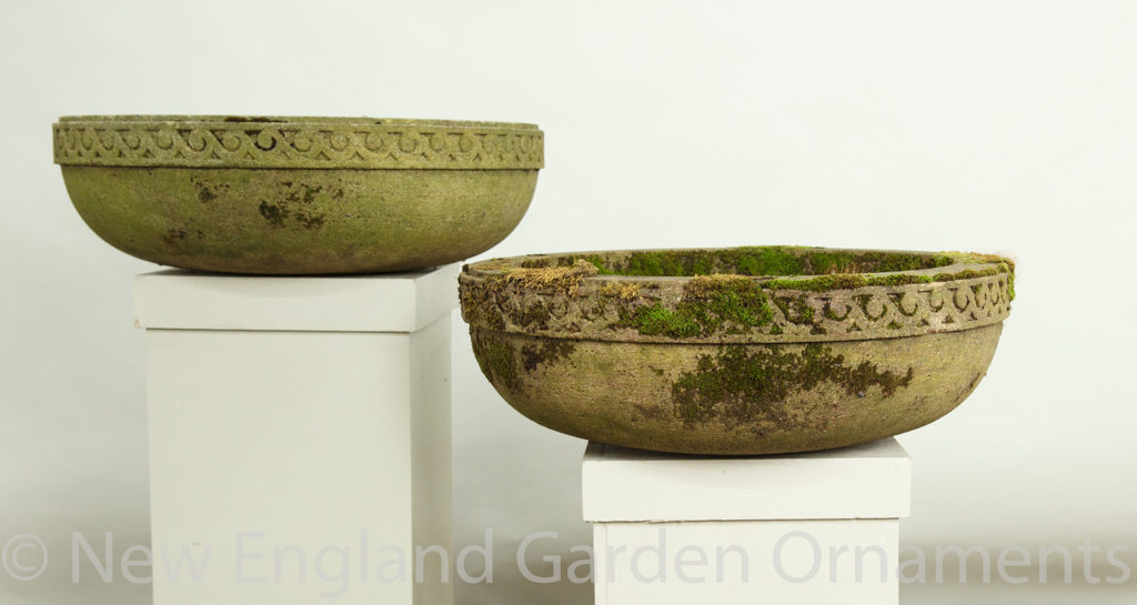 Antique Carved Stone Bowls