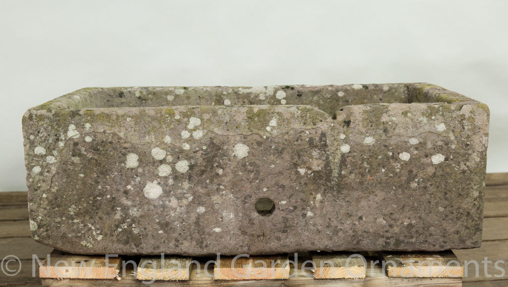 Antique Rectangular Stone Trough