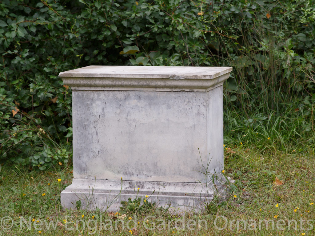 English Rectangular Pedestal