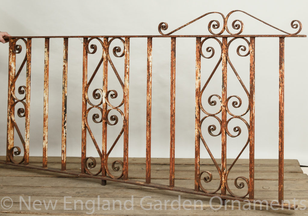 Antique Cast Iron Gate Section