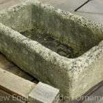 Vintage Cast Stone Trough