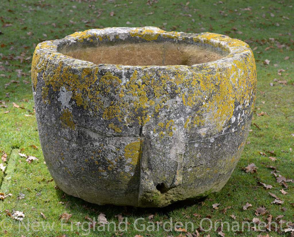Stunning Circular Carved Stone Trough