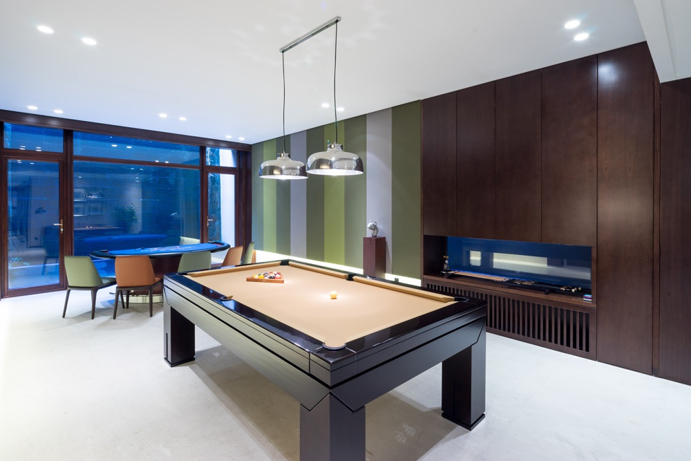 A Custom Man Cave Can Truly Turn a Man's Home Into His Castle