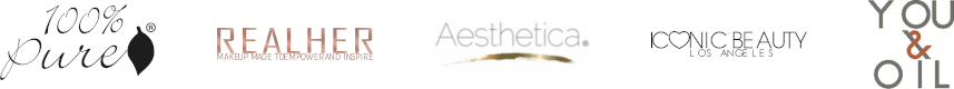 100% Pure - RealHer - Aesthetica - Iconic Beauty - You & Oil