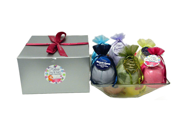 Natural Bath Bomb 10-Pack