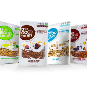 The Good Bean Chickpea Snacks 4-Pack