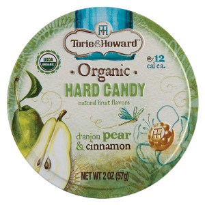 Organic Hard Candy Tins - Set of 3