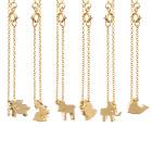 14K Gold Plated Animal Bracelet