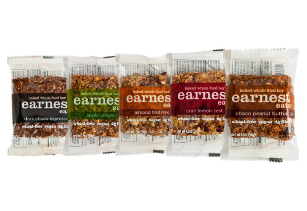 Box of Earnest Eats Baked Bars