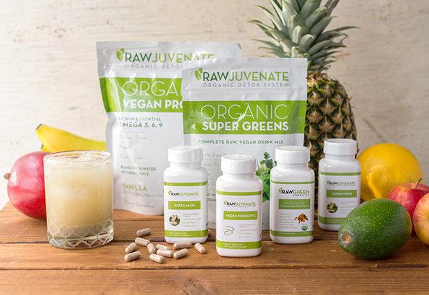 4-Week RawJuvenate Complete Organic Detox