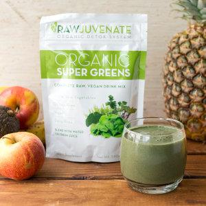RawJuvenate Organic Super Green