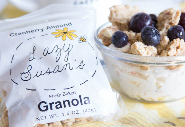 Lazy Susan's Granola Clusters 4-Pack
