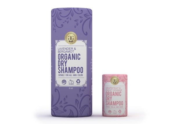 Organic Natural Dry Shampoo Powder Set