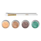 Mineral Eye Shadow Set + Brush Set