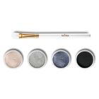 Mineral Eye Shadow Set + Brush Set