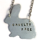 Cruelty Free Bunny Necklace