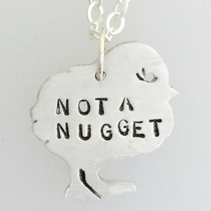 Mini Not a Nugget Chick Necklace