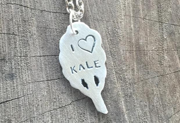 I Love Kale Necklace
