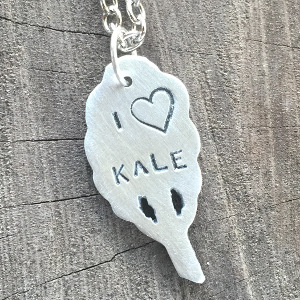 I Love Kale Necklace