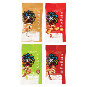 Cashew Snack Pack Box
