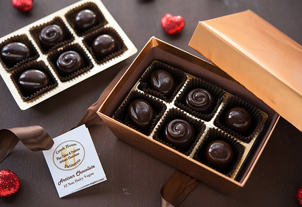 12 Piece Chocolate Truffle Collection
