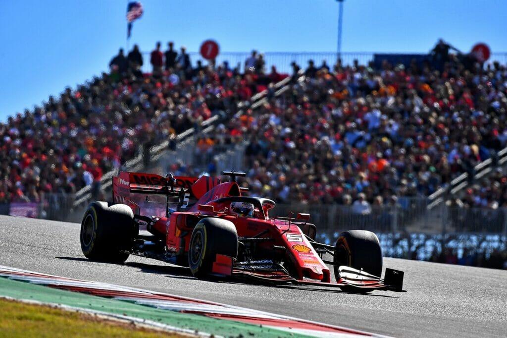 F1 2019 Estados Unidos Austin Ferrari Sebastian Vettel