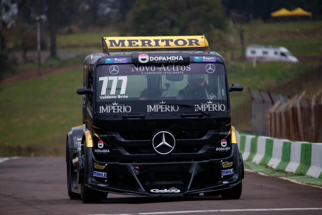 Valdeno Brito na Copa Truck em Cascavel (Foto: Vanderley Soares/+Brasil)