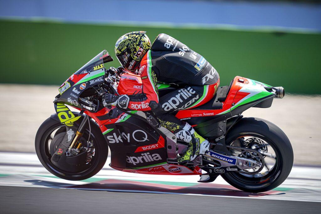 MotoGP 2020 San Marino Misano Teste Aprilia Aleix Espargaró