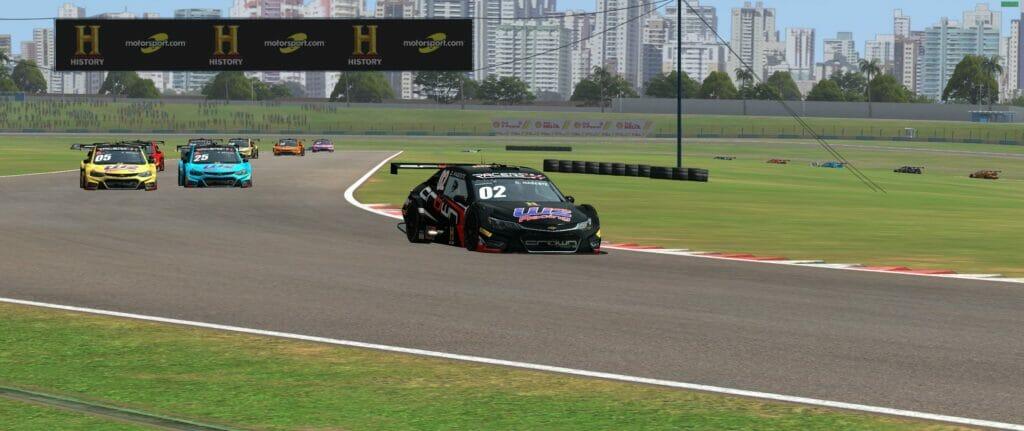 Daniel Mageste venceu a seletiva da Crown Racing no Automobilista (Foto: Ferrari Promo)