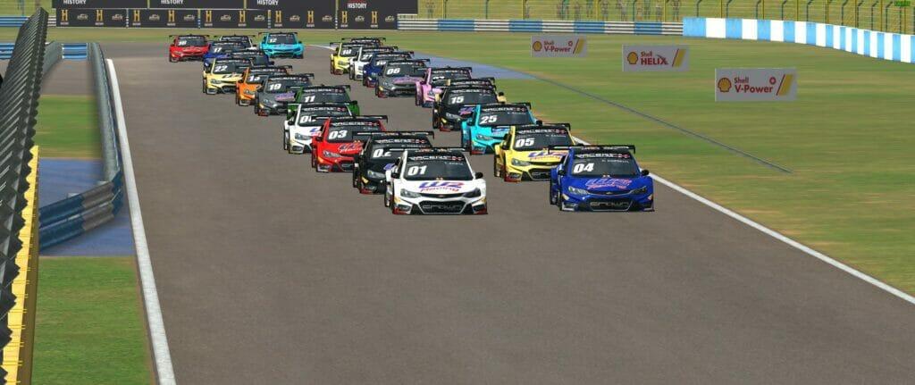 Largada da etapa de Goiânia da seletiva da Crown Racing (Foto: Ferrari Promo)