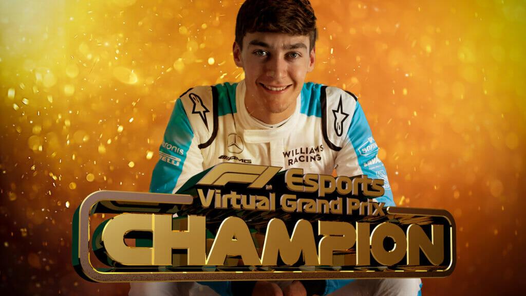 George Russell é o campeão da F1 virtual em 2020 (Foto: Fórmula 1)