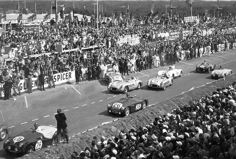 24 Horas de Le Mans de 1955, Acidente, grid