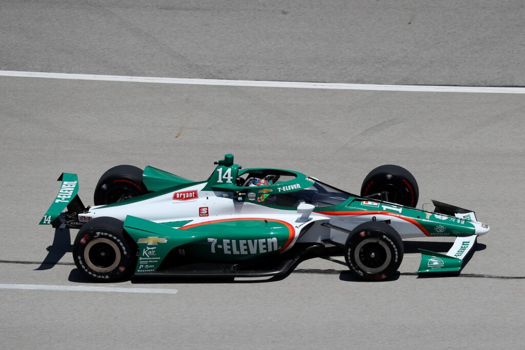 Tony Kanaan no Texas