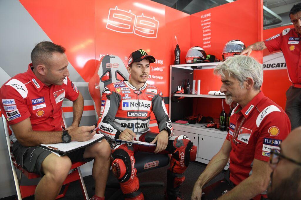 MotoGP Ducati Christian Gabarrini Jorge Lorenzo Gigi Dall'Igna
