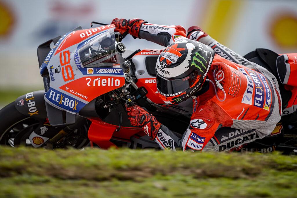 MotoGP 2018 Ducati Jorge Lorenzo