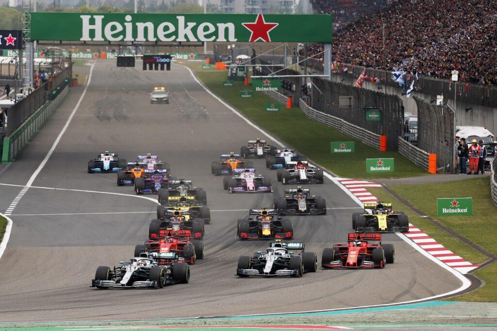 F1 2019 China Xangai
