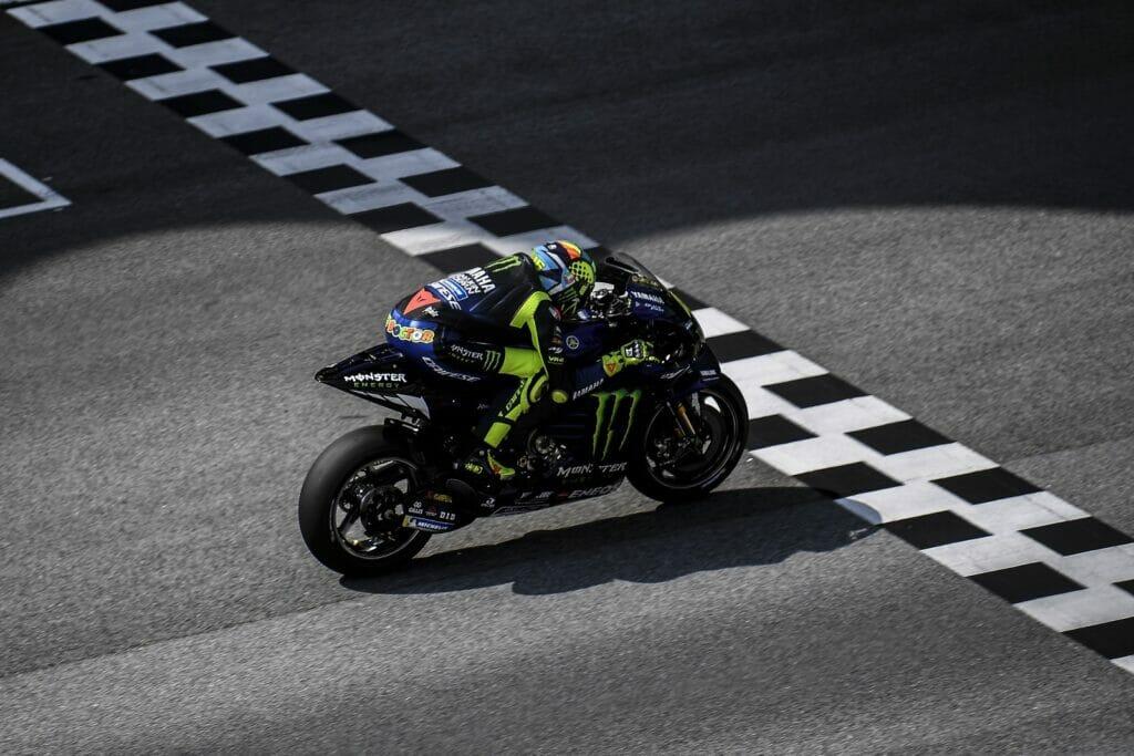 MotoGP 2020 Malásia Sepang Yamaha Valentino Rossi