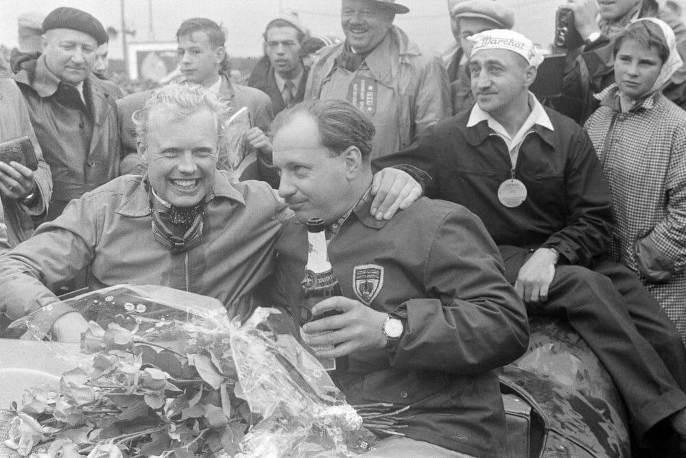 Mike Hawthorn, 24 Horas de Le Mans, 1955