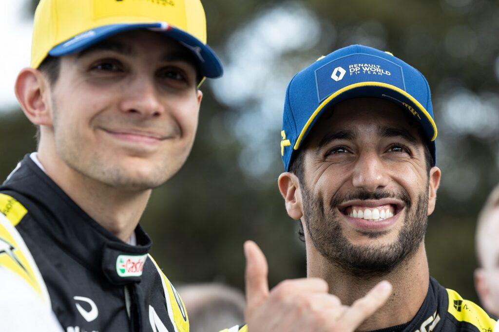 F1 2020 Austrália Melbourne Renault Estaban Ocon Daniel Ricciardo