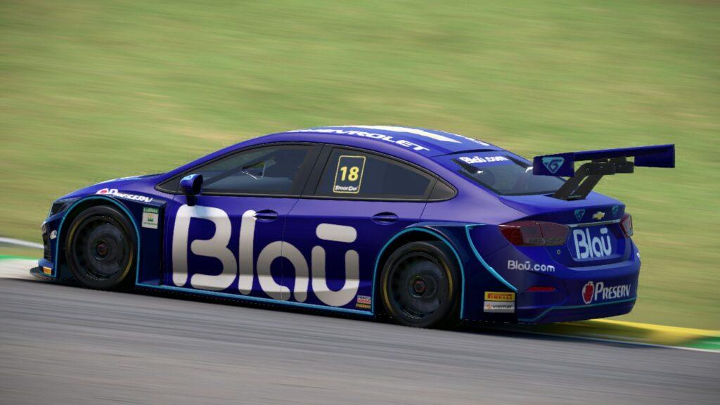 eStock, Stock Car 2020, Interlagos, Blau