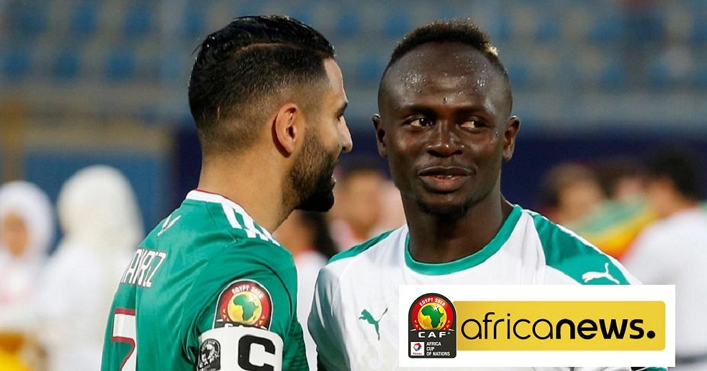 mane-mahrez Mahrez x Mané: A caminhada de dois gigantes do futebol africano rumo à decisão da CAN