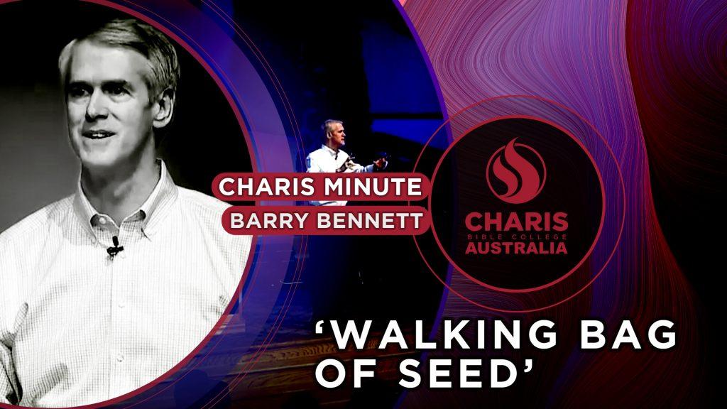 Walking Bag of Seed