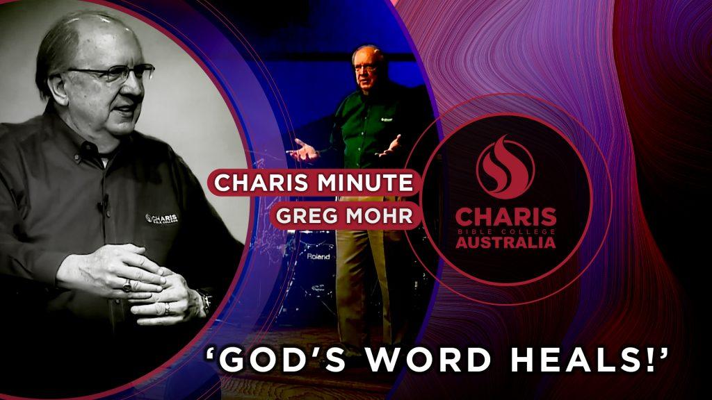 God's Word Heals!