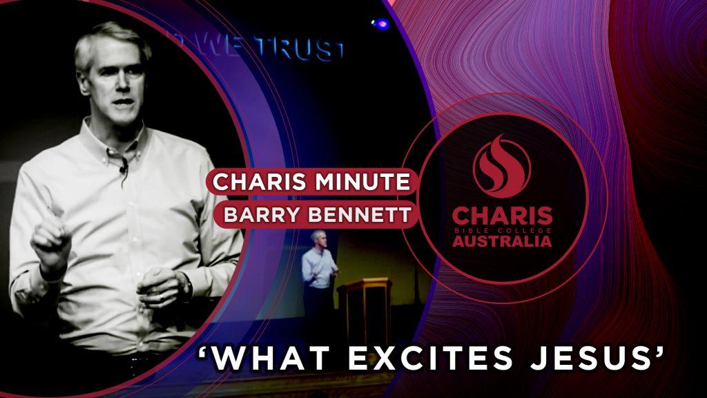 What Excites Jesus