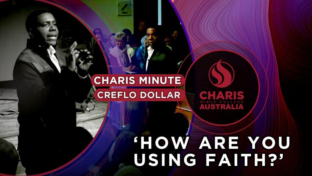 How are You Using Faith