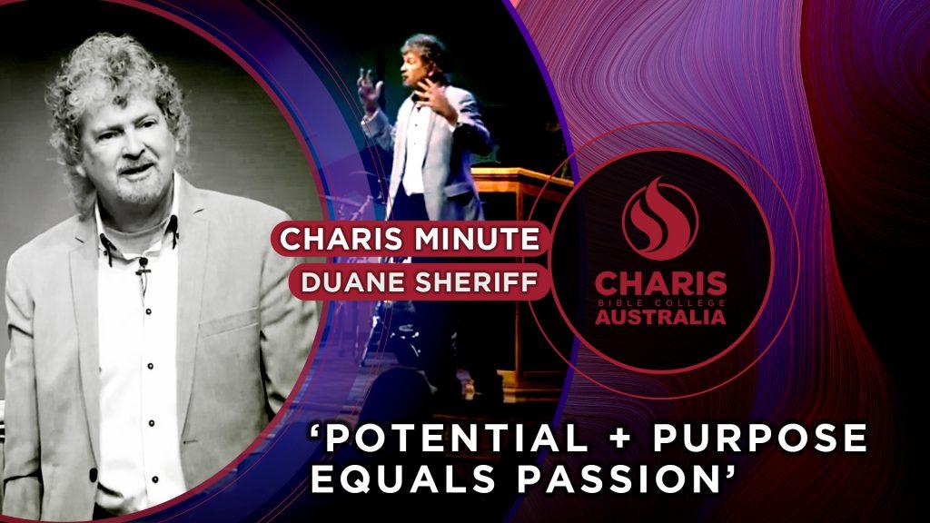 Potential + Purpose = Passion